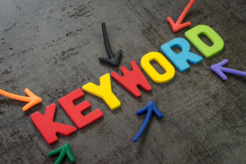 graphic letters seo keywords