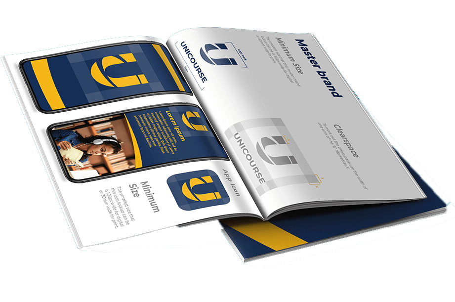 A Unicourse brochure.