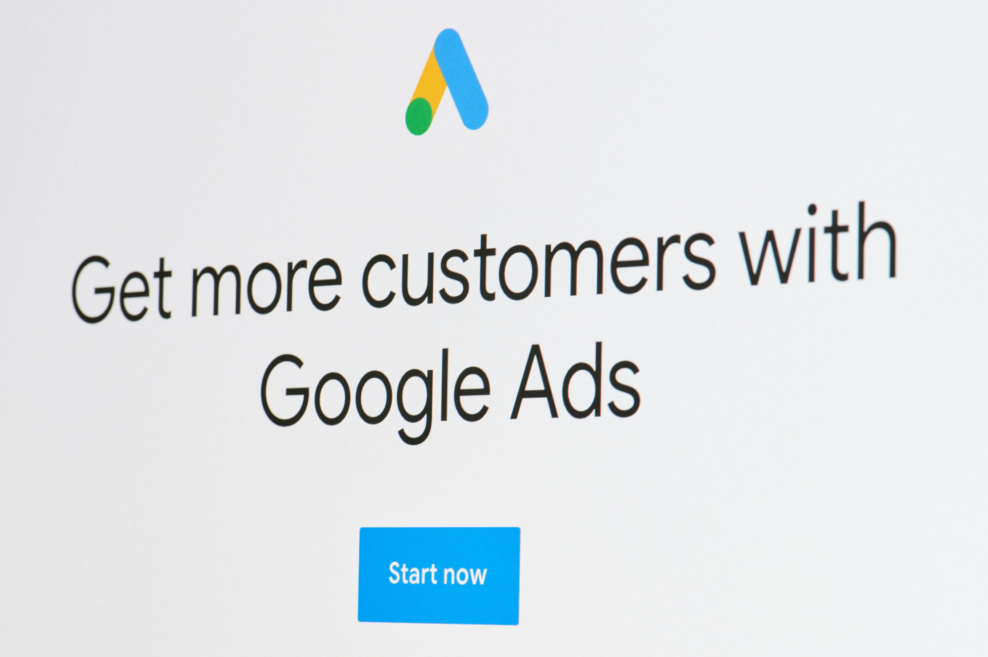 The Google Ads interface that explains to people what is quality score in Google AdWords.