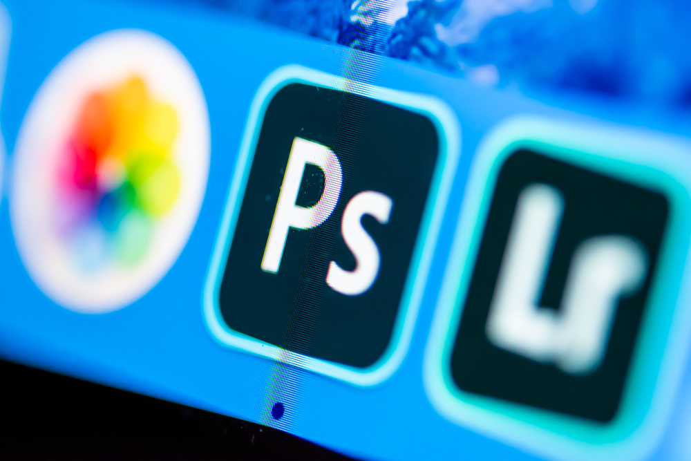 The Photoshop application used to show how to make an animation in photoshop.