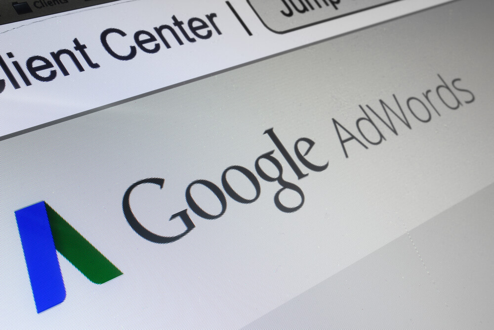 A screenshot of the Google AdWords website to show what are the key success metrics in PPC.