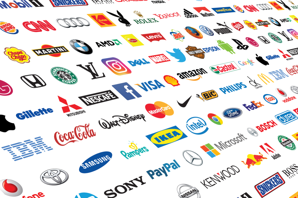 A selection of brands showcasing how important is it to understand what is product branding.